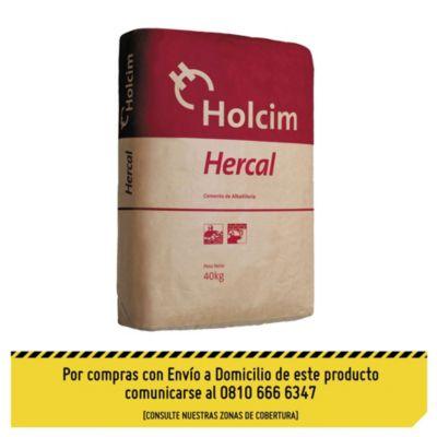 Cemento de albañilería Hercal x 40 kg