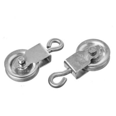 Roldana reforzada chapa zinc 25 mm