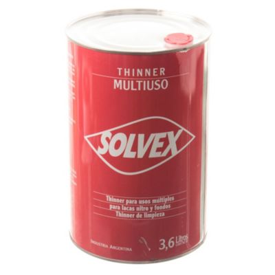 Diluyente thinner solvex multiuso 3.6 l