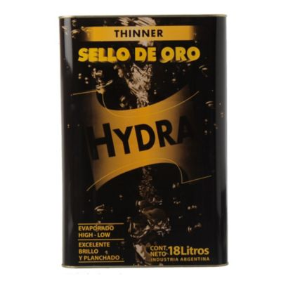 Diluyente thinner sello de oro 18 l