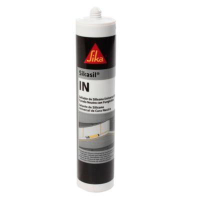 Sellador de silicona sikasil-c negro 300 ml