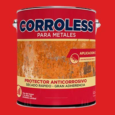 Antióxido corroless rojo 4 L