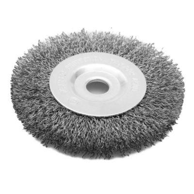 Disco cepillo circular de acero 100 mm
