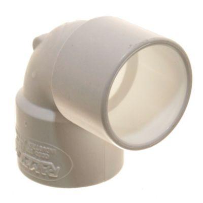 Codo PVC a 90° hh 40 mm