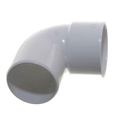 Codo PVC a 90° mh 63 mm