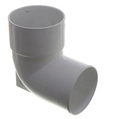 Codo con base PVC de 110 mm mh