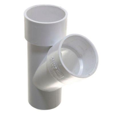 Ramal PVC a 45° mh 50 x 50 mm