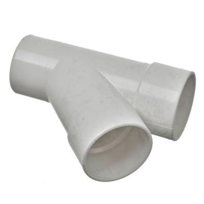 Ramal PVC a 45° mh 63 x 63 mm