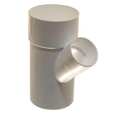 Ramal PVC a 45° mh 110 x 63 mm