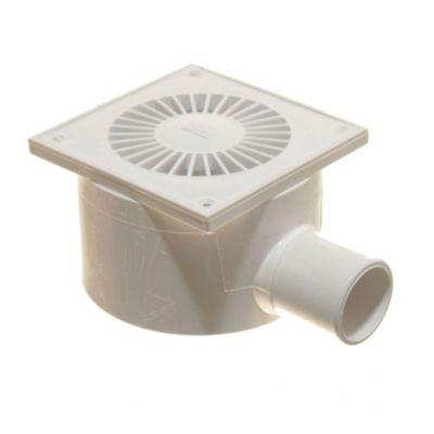 Receptáculo 40 mm con rejilla de PVC