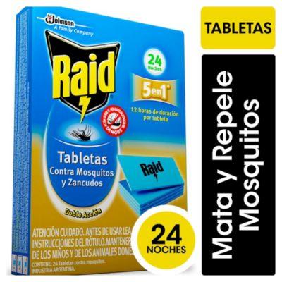 Tabletas contra mosquitos larga duración