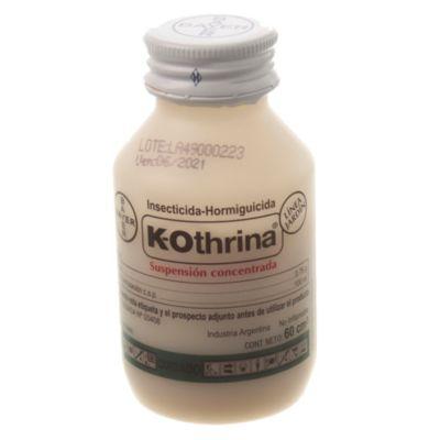Cucarachicida líquido k-othrina 60 cc