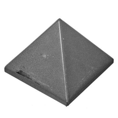 Tapa pirámide 10 x 10 cm chapa plegada