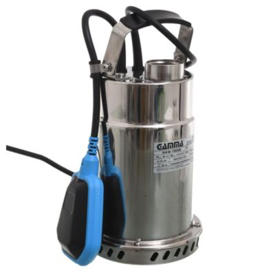 Bomba Sumergible de acero inoxidable para aguas Limpias 750 w