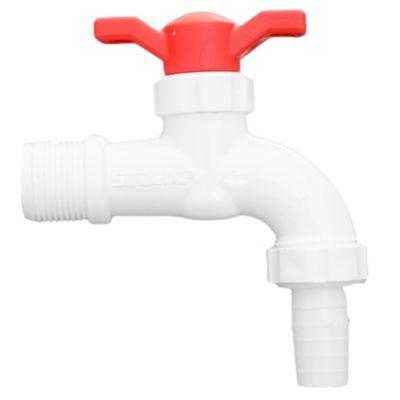 Canilla para lavadero esférica PVC 3/4