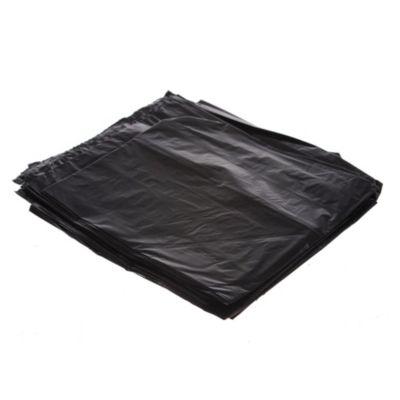 Bolsa de consorcio plana negra 60 x 90 cm