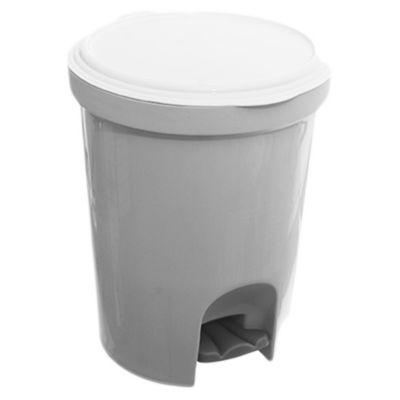 Contenedor de residuos con tapa a pedal 13,5 l