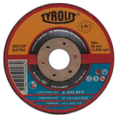 Disco de corte acero inoxidable 114 mm