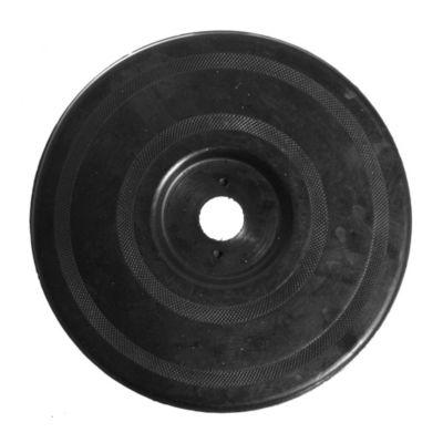 """Disco de respaldo con centro de acero 7"""""""