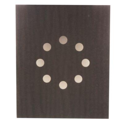 Set de lijas 11.5 x 14 cm con 8 perforaciones