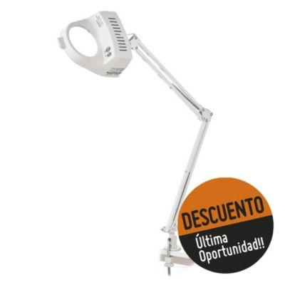 Lámpara de escritorio para dibujo una luz con lupa blanca E27