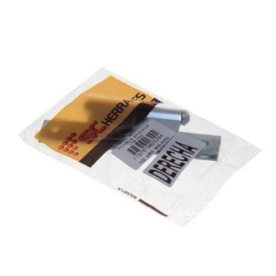 Pomela 110 mm zincada de contacto