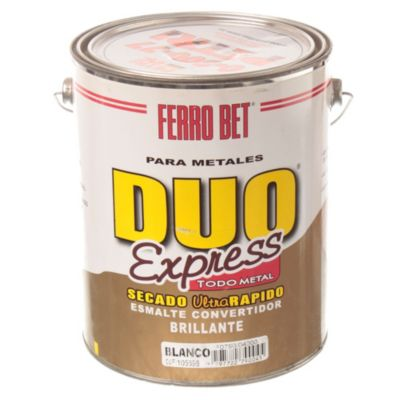 Esmalte convertidor ferrobet duo express blanco 4 L