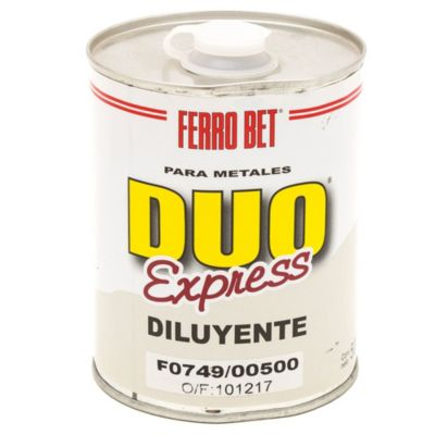 Diluyente duo express 0.5 l