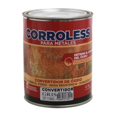 Convertidor de óxido corroless gris 1 L