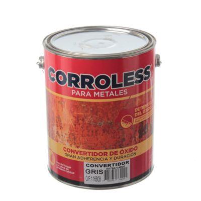 Convertidor de óxido corroless gris 4 L