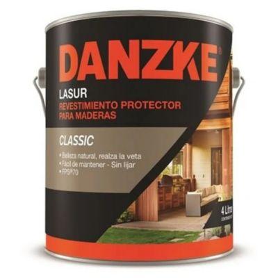 Protector para maderas  Lasur satinado roble oscuro 4 L