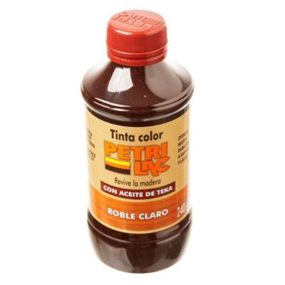 Tinta colorante para madera roble claro 240 cm3