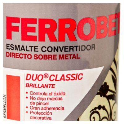 Convertidor ferrobet duo classic bermellón 0.5 L