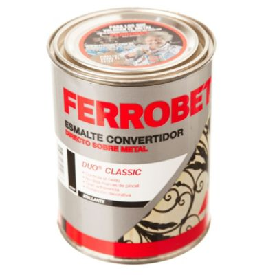 Convertidor ferrobet duo classic negro 0.5 L
