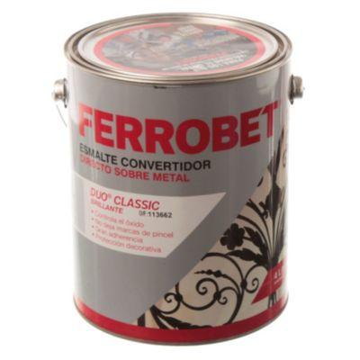 Convertidor ferrobet duo classic gris espacial 4 L