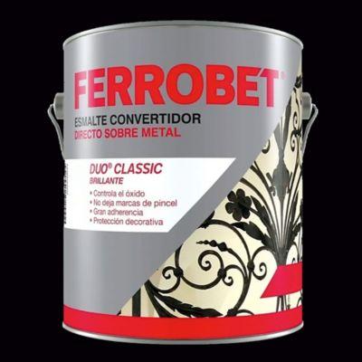 Convertidor ferrobet duo satinado negro 1 L