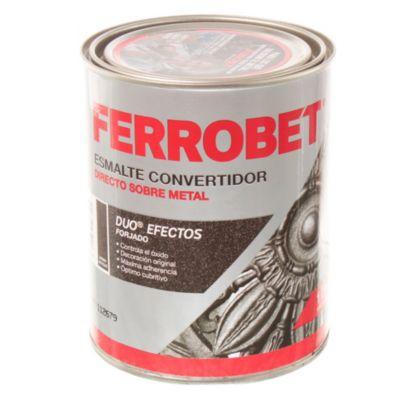 Esmalte convertidor ferrobet duo forjado hierro antiguo 1 L