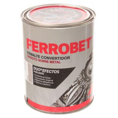 Esmalte convertidor ferrobet duo forjado plata 1 l