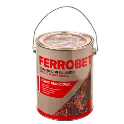 Convertidor de óxido ferrobet rojo 4 L