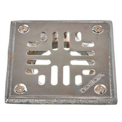 Reja de acero inoxidable de 8 x 8 cm con embudo
