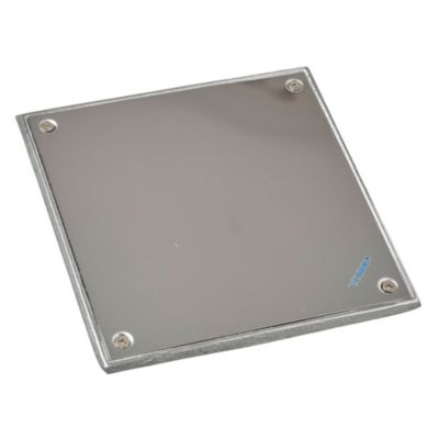 Tapa de acero inoxidable de 20 x 20 cm dch liviana