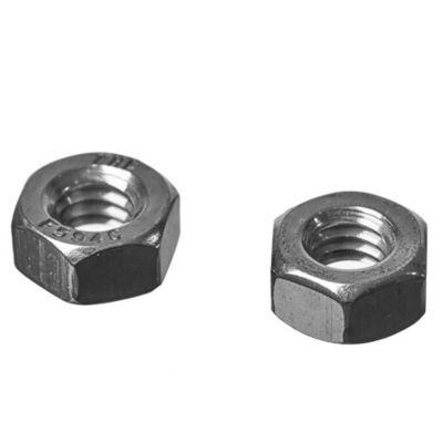 Tuerca hexagonal Inox 1/4 2 unidades