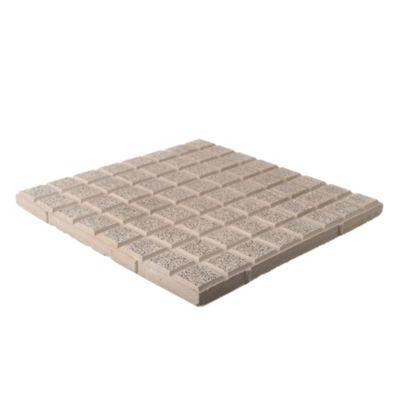 Baldosón piso recto gris y negro 40 x 40 cm