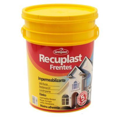 Impermeabilizante para frentes blanco Recuplast 20 litros