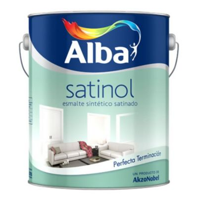 Esmalte Satinol blanco 4 L