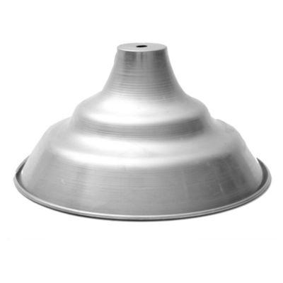 Lámpara de techo colgante una luz aluminio 35 cm E27