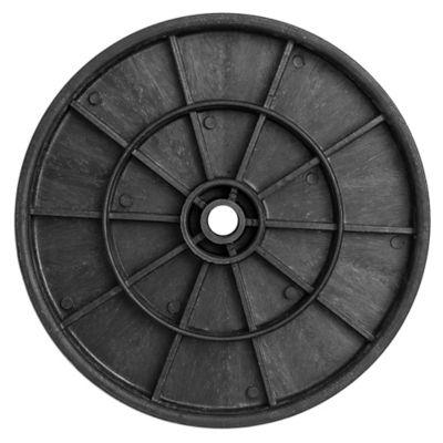 Rueda goma comp.350 mm