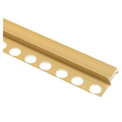 Nariz de escalón PVC beige