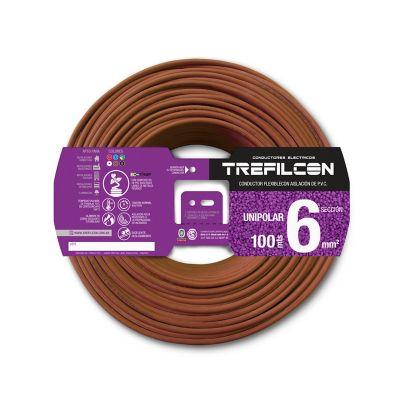 Cable unipolar 6 mm2 marrón