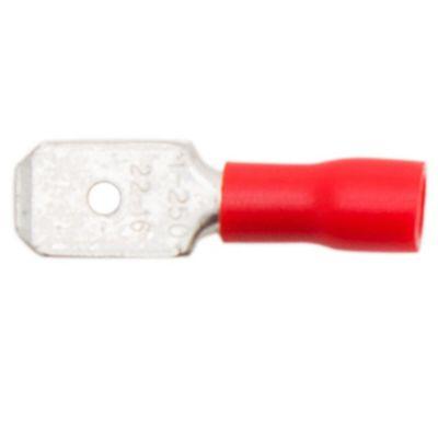 Terminal preaislado 1.5 mm2 pala macho 6.35 mm